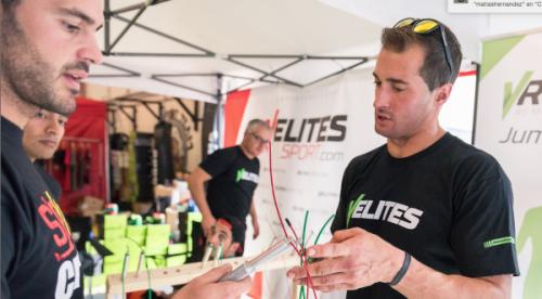 VRopes combas de saltar para atletas de crossfit, fitness y artes marciales. Comba para fitness