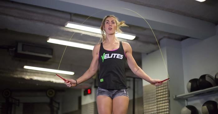 Jessica rutina clases funcionales de entrenamiento de crossfit
