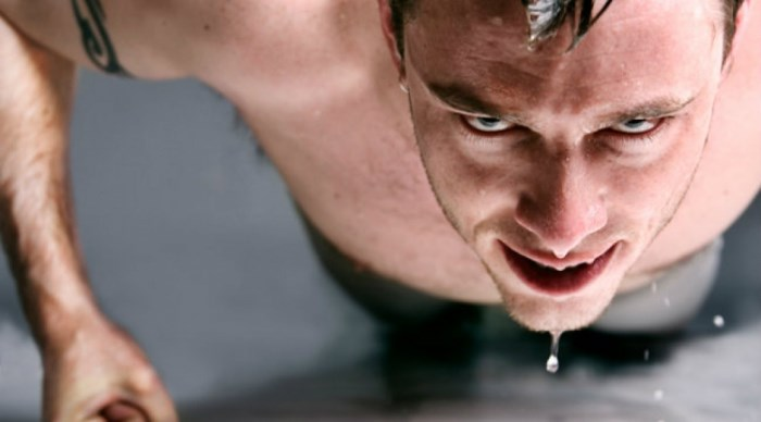 La sudoración es un arma de doble filo