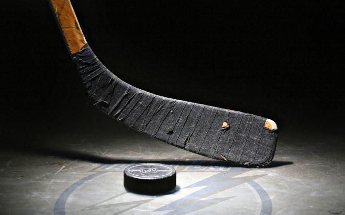 Calentamiento de la zona lumbar para hockey