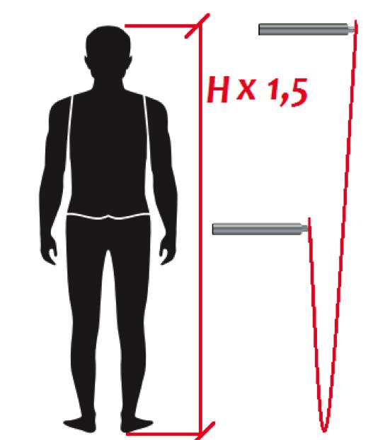 Ajustar tu comba segun la altura corporal
