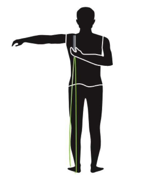 Tecnica hombro de ajustar tu comba