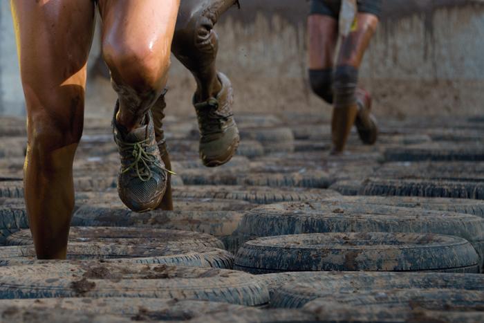 entrenamiento espartano carreras obstaculos corredores