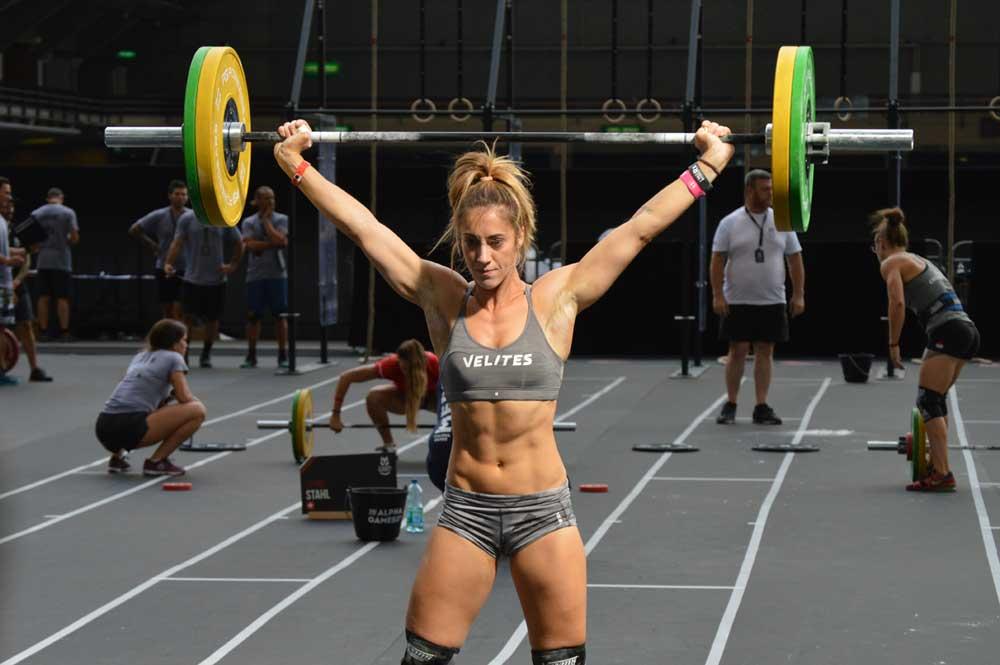 deportista concentrado Jessica Vetter Velites Sport