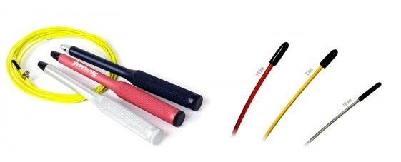Cables y mangos comba crossfit Velites