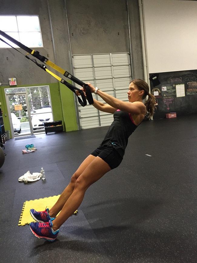 TRX Kraft-Suspendierungs-Workouts