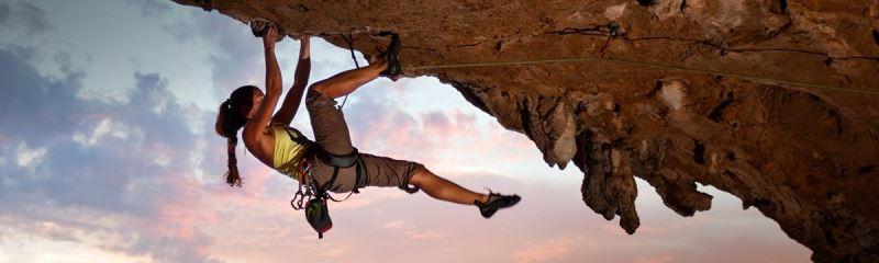 Calentamiento de hombros para escalada