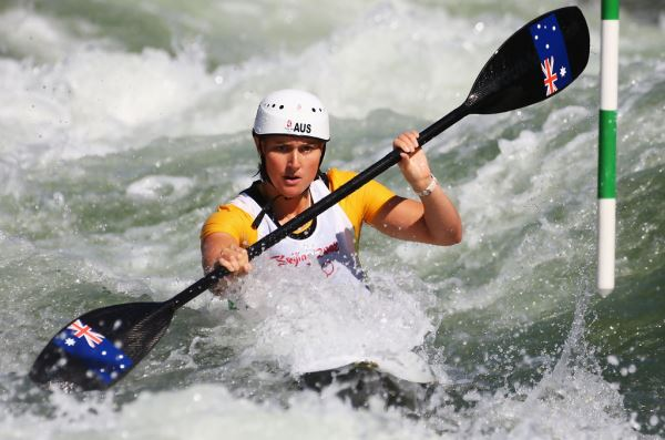 Calentamiento de hombros para kayaking