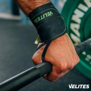 Muñequera para CrossFit Core verde de Velites